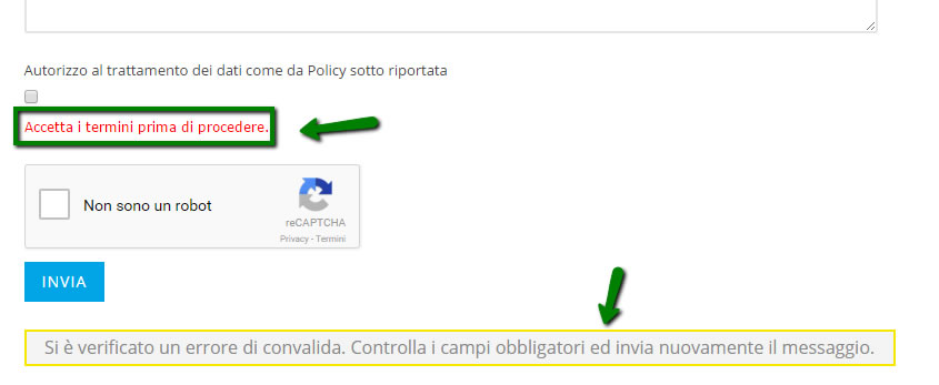 tutorial accettazione termini e privacy cf7 - claudia martinelli